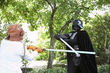 """Свадьба в стиле """"Звездные войны"""""""