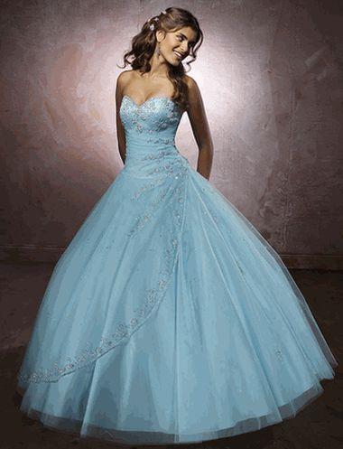 Синее / голубое свадебное платье. » Настольная книга Невесты