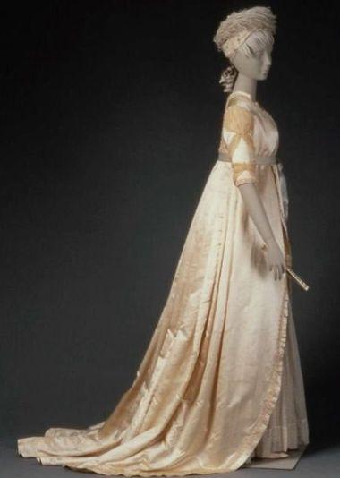 Свадебные платья 19 век
