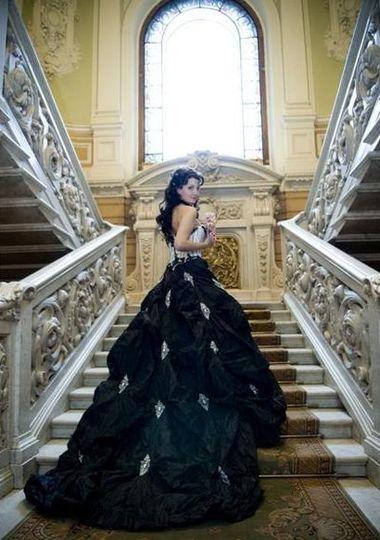 3ef2fe598df Чёрное свадебное платье » Настольная книга Невесты