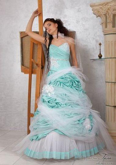 Свадебные платья необычного цвета. » Настольная книга Невесты