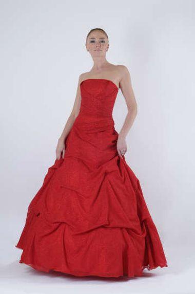 Туфли под красное свадебное платье