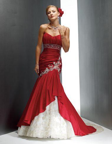 Невеста в платье красном во сне