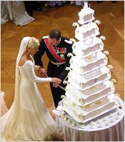 Свадебные торты на свадьбах звезд