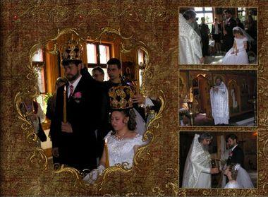 Свадебный альбом. Венчание